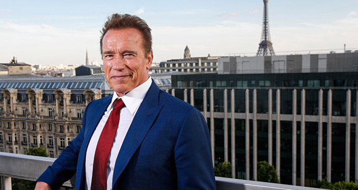 Arnold Schwarzenegger, estrella del cine de acción y exgobernador de California