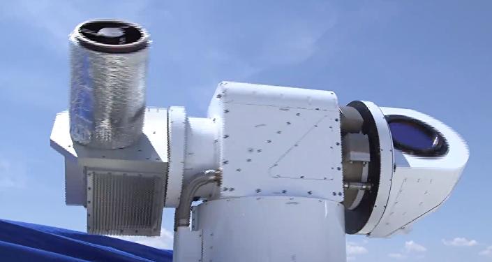 Athena, sistema de armas láser de Lockheed Martin