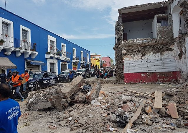 Ciudad de México tras el terremoto