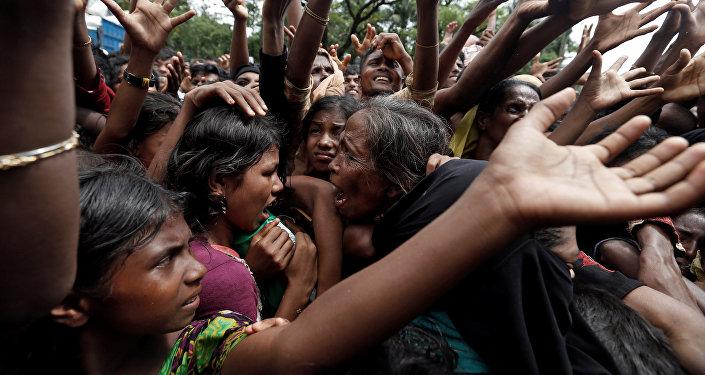 Los refugiados rohinyás en Bangladés