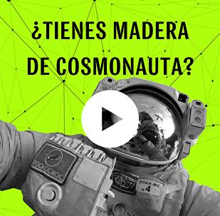 ¿Tienes madera de cosmonauta?