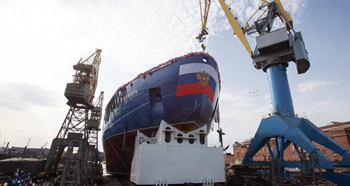 Sibir, el segundo rompehielos del Proyecto 22220