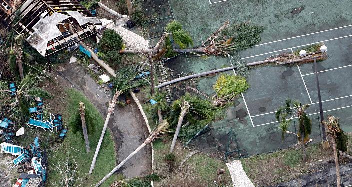 Consecuencias del huracán María en las islas Vírgenes