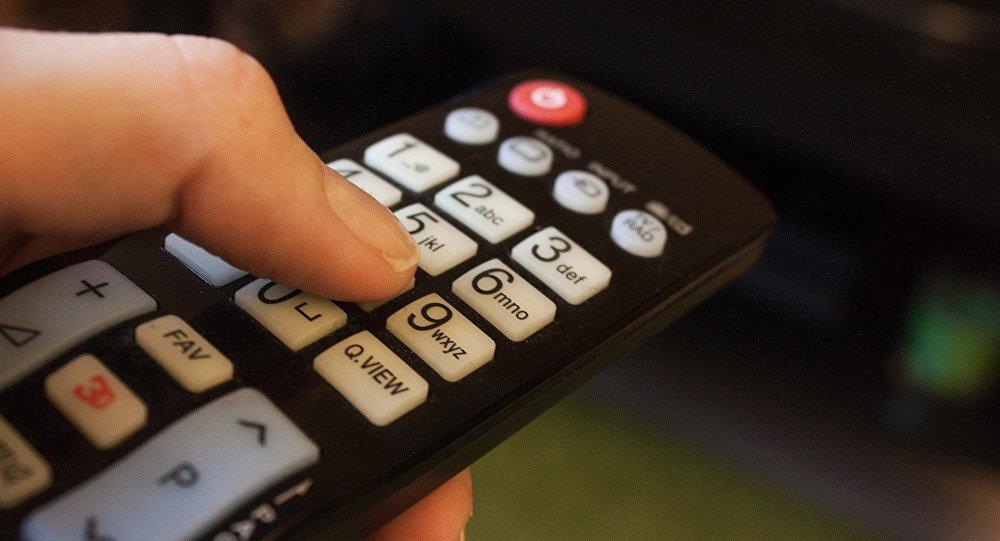 Un mando de televisión (imagen referencial)
