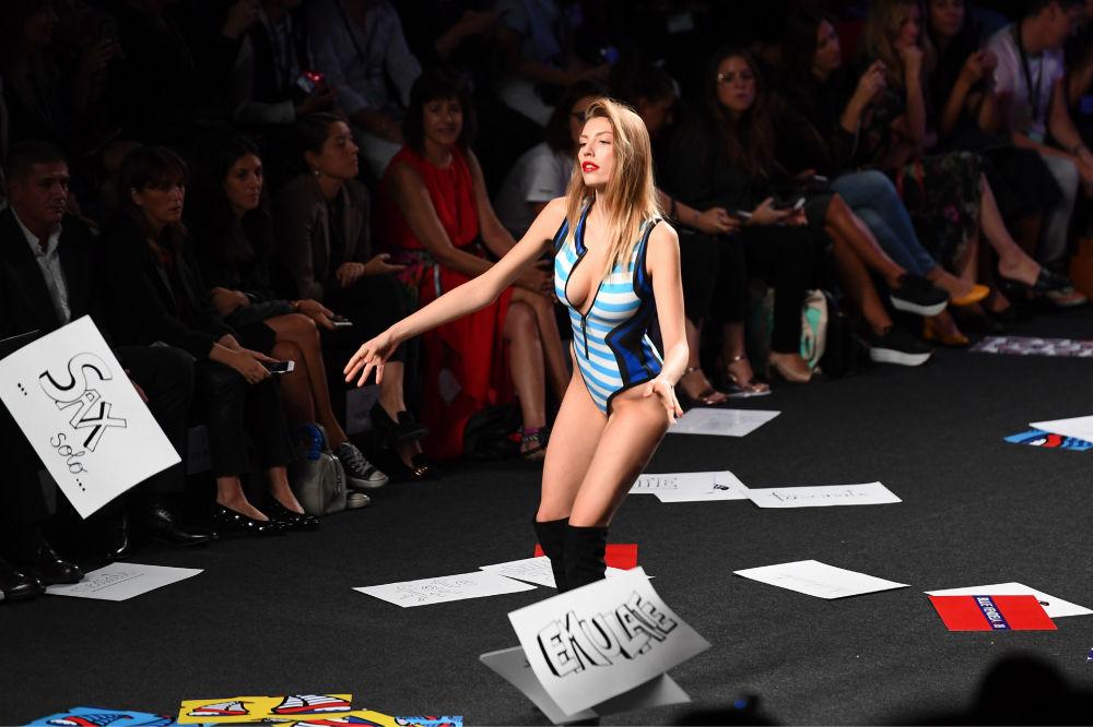 Los momentos más sensuales de la Mercedes-Benz Fashion Week Madrid