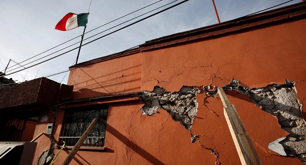 Terremoto en México (archivo)