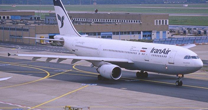 Un avión de IranAir (archivo)