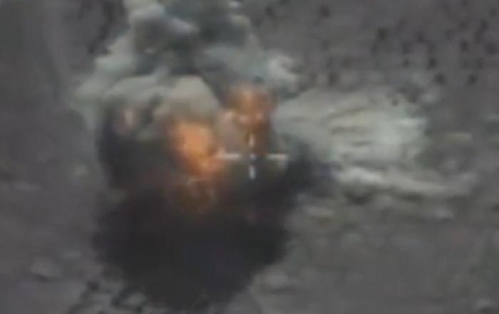 Publican vídeo de destrucción de objetivos terroristas con misiles Kalibr en Siria
