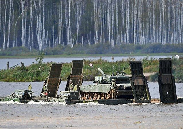 El vehículo PMM-2M en el Foro Internacional Técnico Militar Army 2017