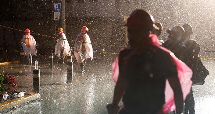 Socorristas en la Ciudad de México