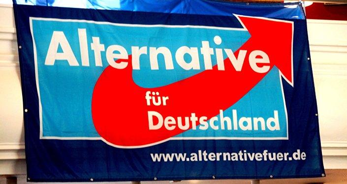 Logo del partido Alternativa para Alemania (AfD)