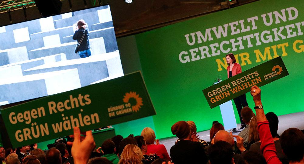 El partido alemán Los Verdes