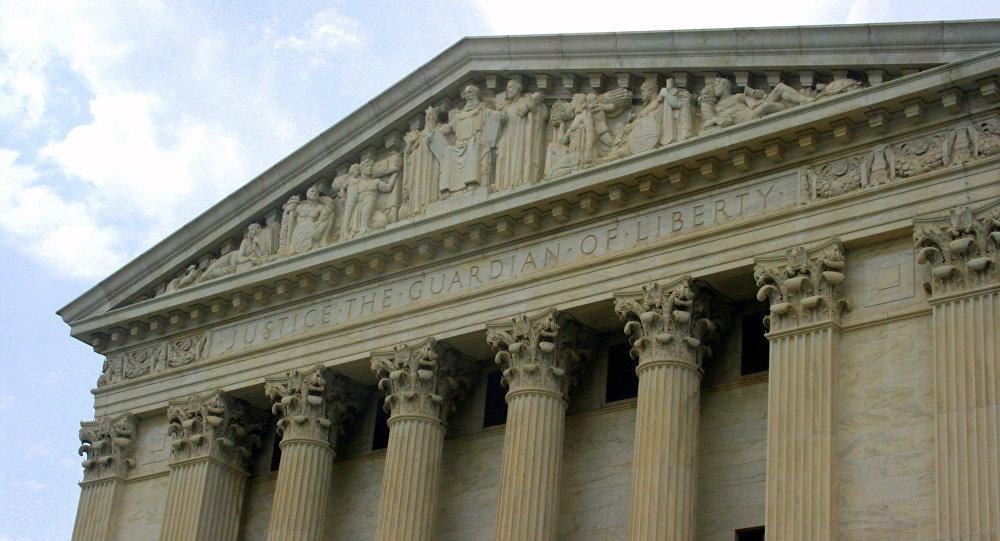 Corte Suprema de EEUU en Washington (imagen referencial)