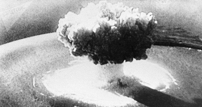 Explosión de una bomba nuclear (imagen referencial)