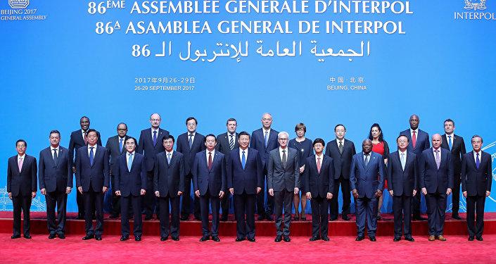 La 86 Asamblra General de Interpol en Pekín, China