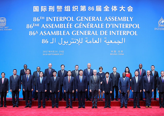 La 86 Asamblra General de Interpol en Pekín, China