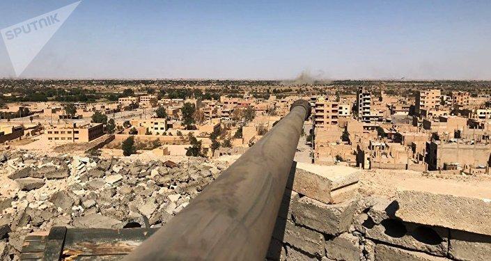 La situación en Deir Ezzor (archivo)
