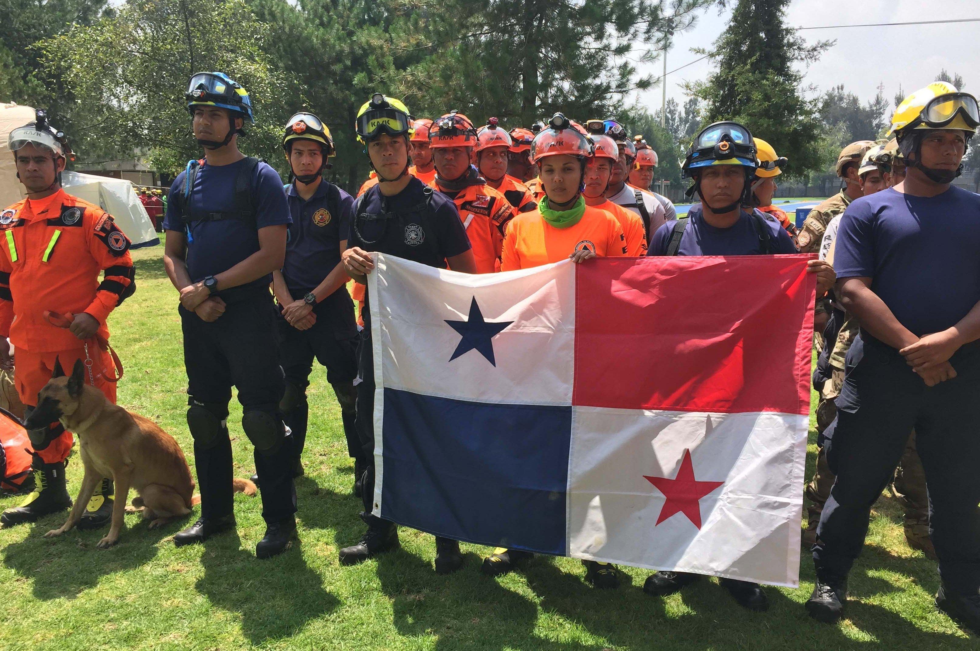 Los rescatistas de Panamá