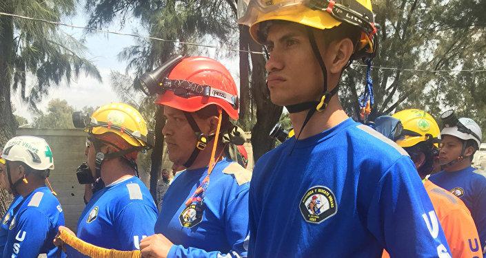 Los rescatistas de Nicaragua