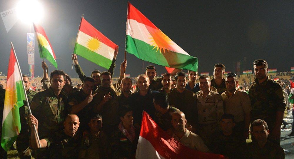 Partidarios de la independencia de Kurdistán
