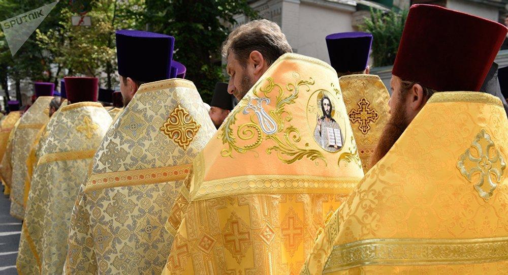 Clérigos del Patriarcado de Moscú