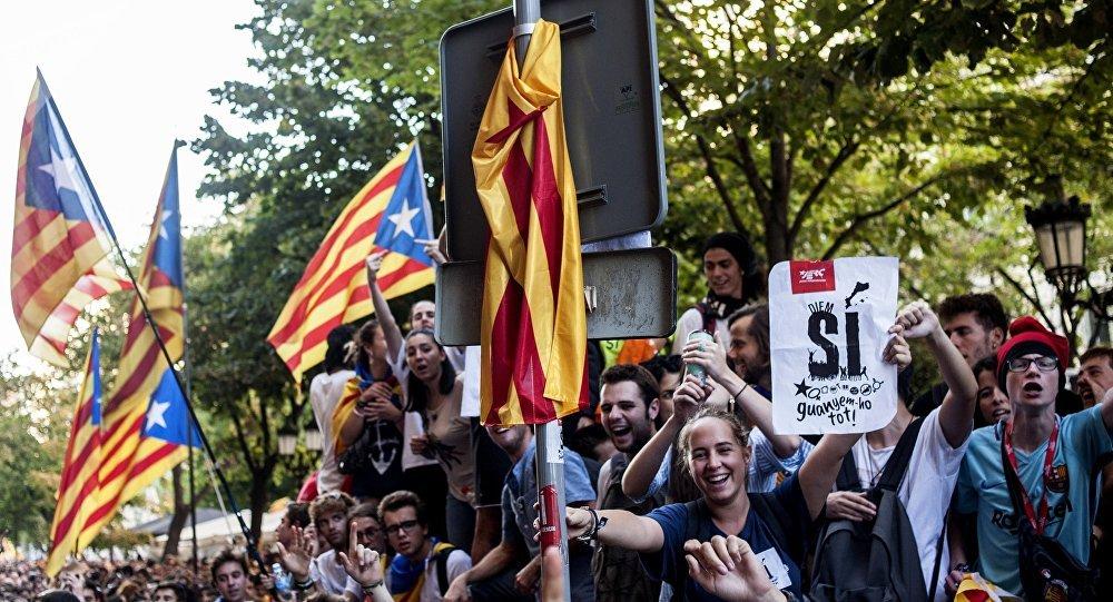 Manifestaciones en Barcelona, Cataluña