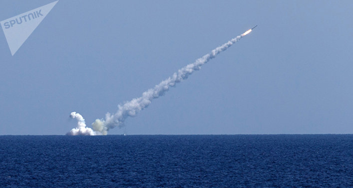 Lanzamiento de misiles Kalibr