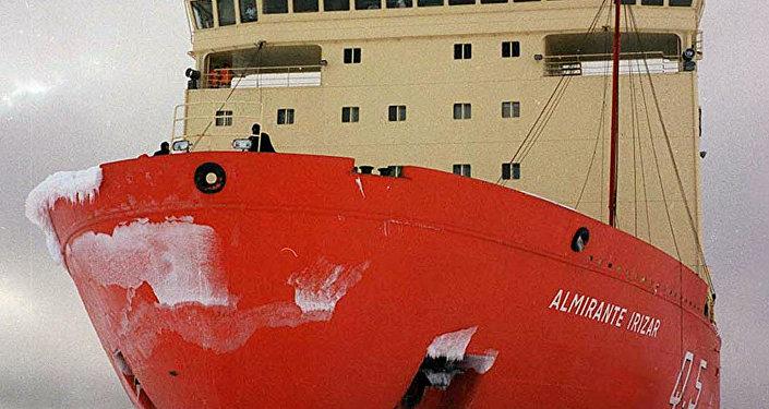 El rompehielos Almirante Irízar