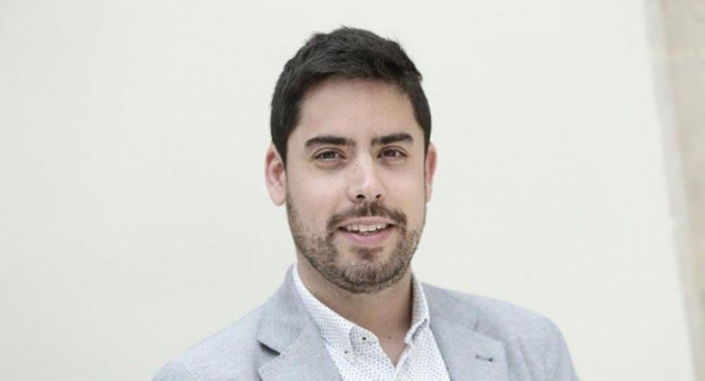 David Mejía Ayra, diputado en el Parlamento de Cataluña por el partido de la oposición Ciutadans
