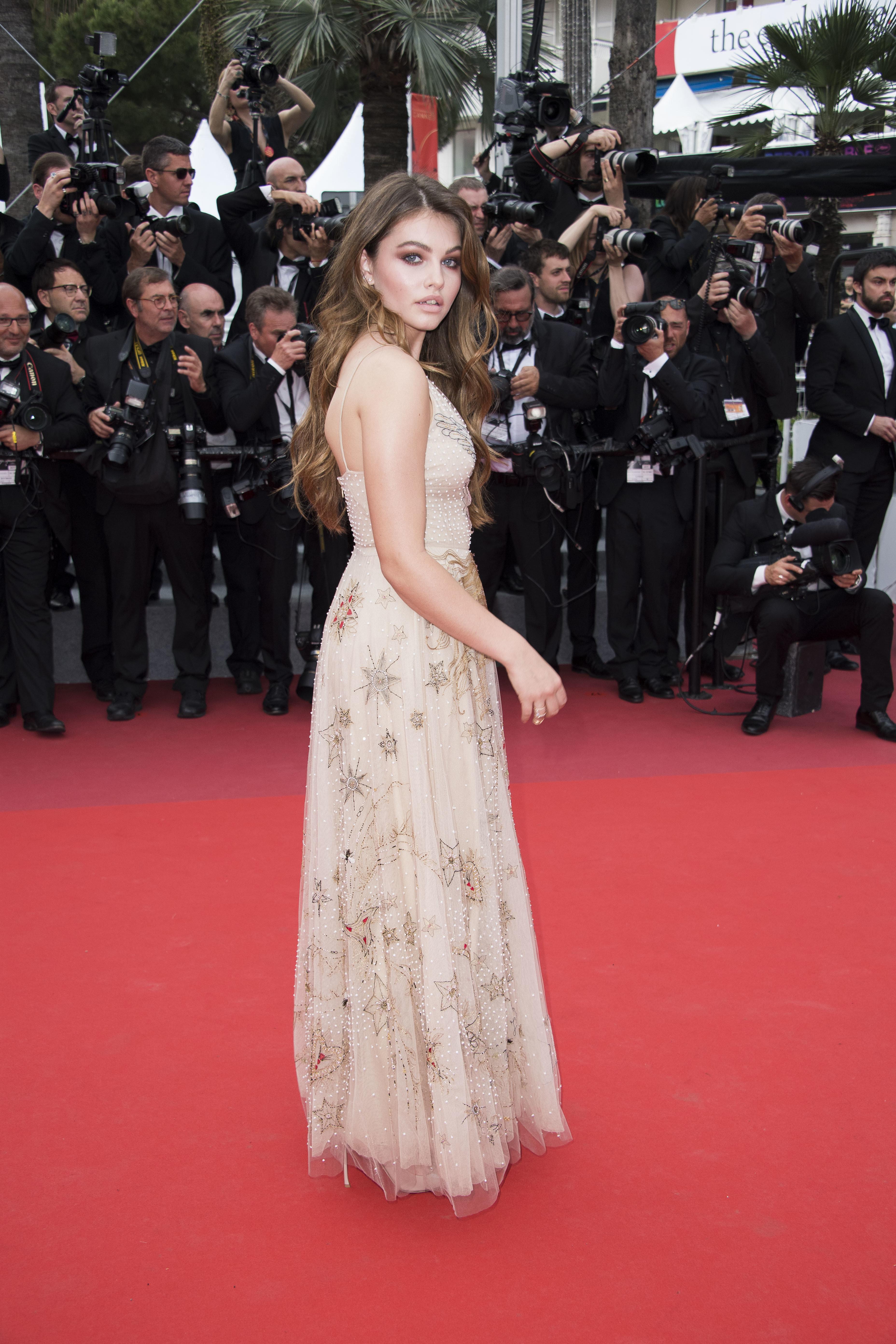 La modelo francesa Thylane Blondeau