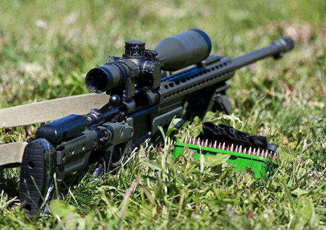 Un fusil de francotirador (Archivo)