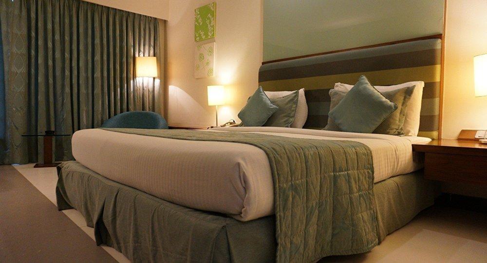 Una habitación en un hotel
