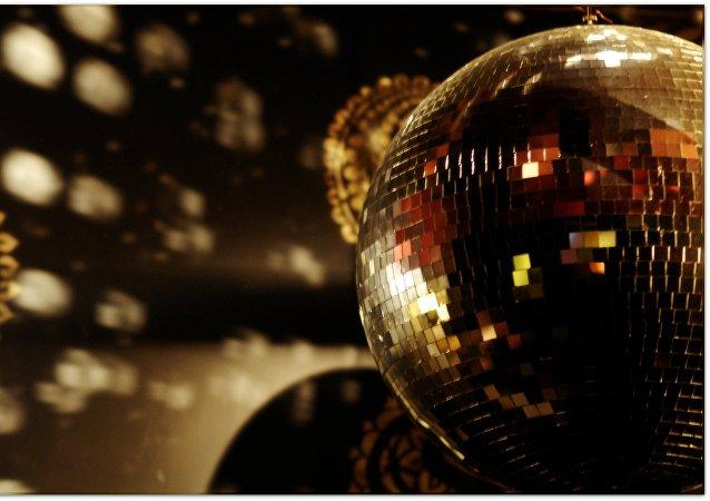 Luces de una discoteca