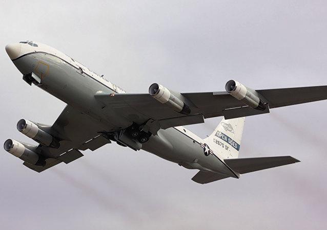 Avión estadounidense OC-135B Cielos Abiertos