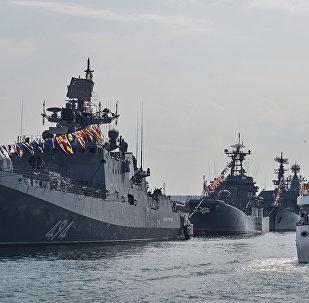 La fragata Almirante Grigorovich (archivo)