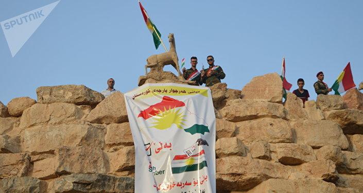 Propaganda de apoyo al referéndum de independencia de Kurdistán iraquí