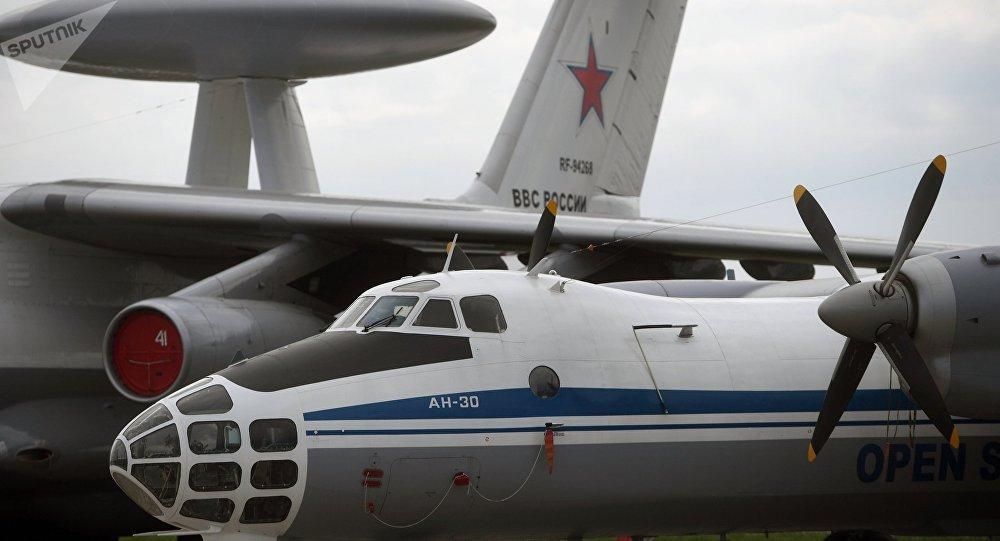 An-30B, avión ruso de vigilacia (imangen referencial)