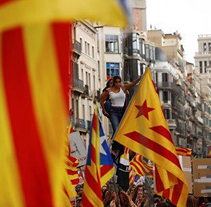 Referéndum de independencia de Cataluña (imagen referencial)