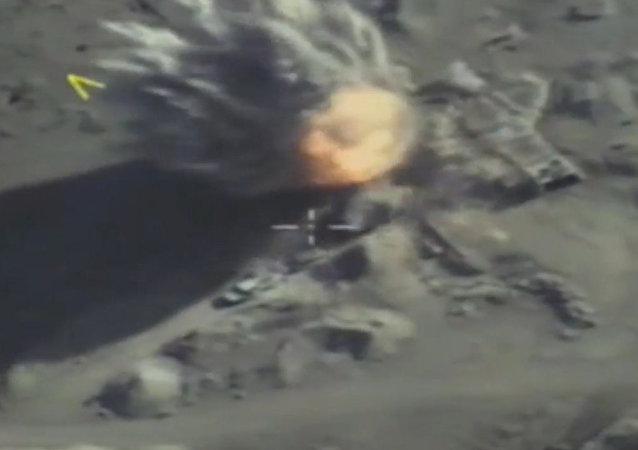 La aviación rusa frustra planes de terroristas en Idlib
