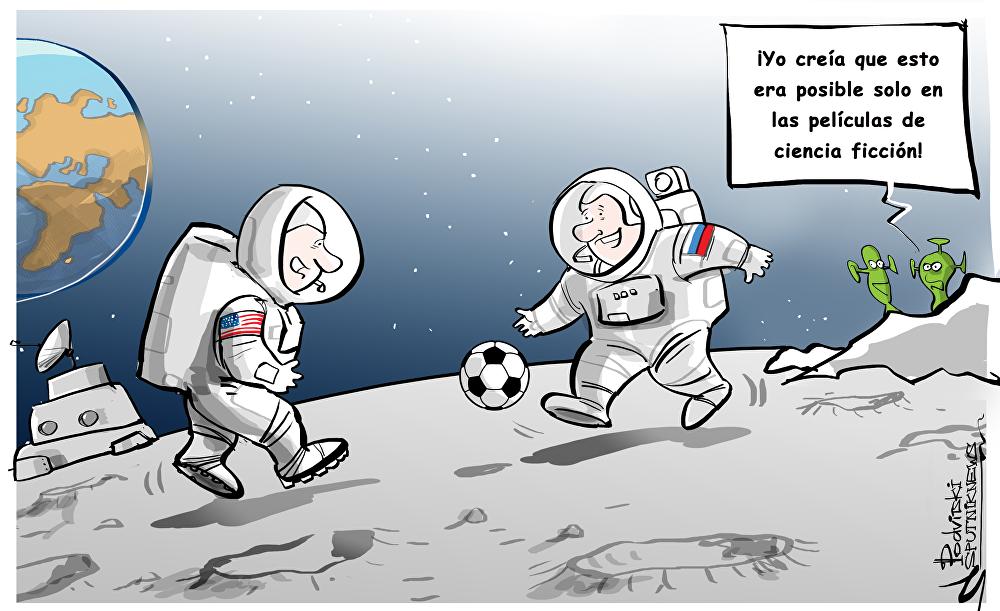Rusia y EEUU crearán estación en la órbita lunar
