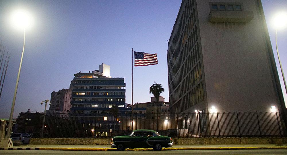 Embajada de EEUU en la Habana, capital de Cuba