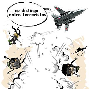 Rusia aniquila terroristas en Siria