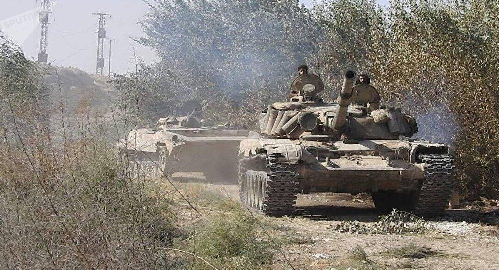 Ejército sirio avanza hacia el sureste de Deir Ezzor