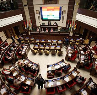 El Parlamento del Kurdistán iraquí en Erbil (archivo)