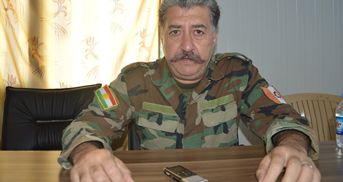 Husein Yazdanpana, el comandante de las milicias peshmerga apodado el 'Stalin kurdo'