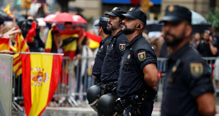 La Policía nacional española