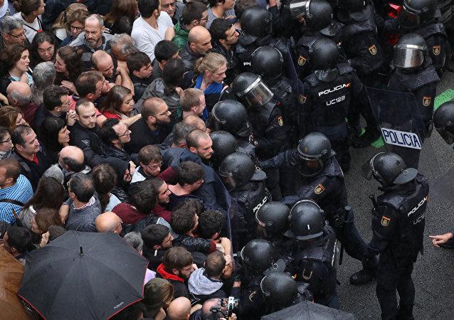 Guardia Civil española en Barcelona, Cataluña