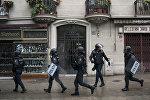 Policía española en Cataluña