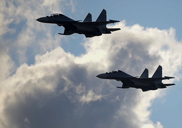 Aviones de caza rusos Su-30