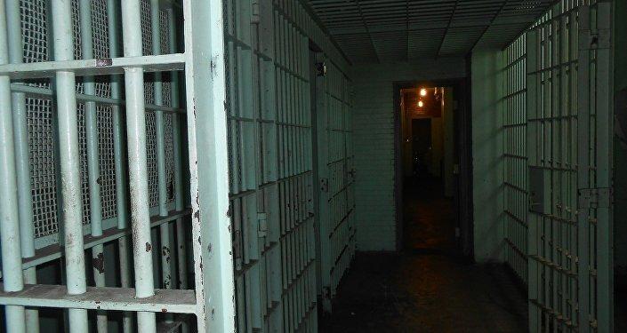 El pasillo de una cárcel (imagen referencial)
